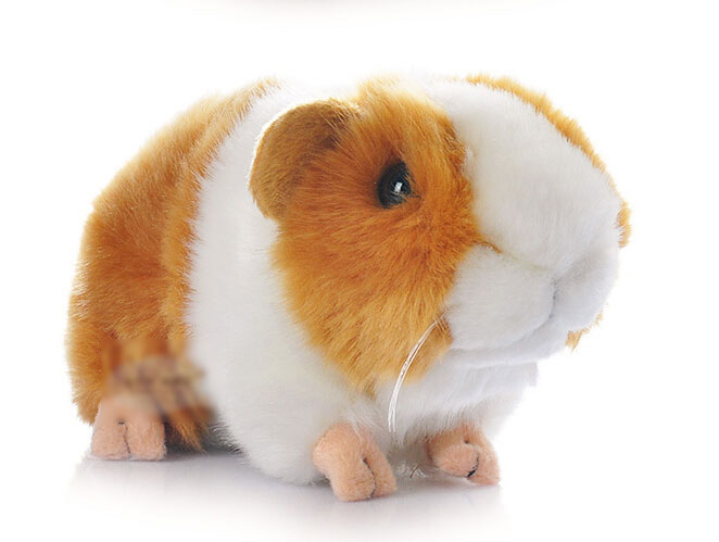 New hamster stuffed animal 10 18cm plush toy ornaments for Free guinea pig stuff