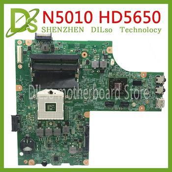 KEFU 09909-1 motherbo Per DELL inspiron N5010 scheda madre CN-0VX53T CN-052F31 09909-1 48.4HH01.011 HM57 GPU di Test originale