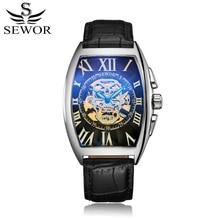 Automatico Lederen Doos Horloges