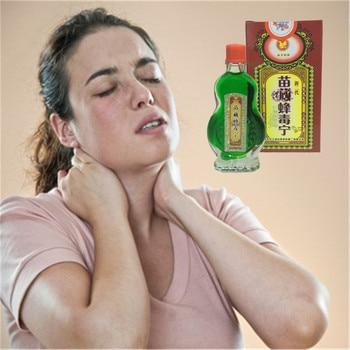 MIYUELENI Wild Hornet Venom Rapid Pain Relief Essential oil Heaiting Stop Pain Balm 13ml Analgesic Cream Cheap Essential Oil