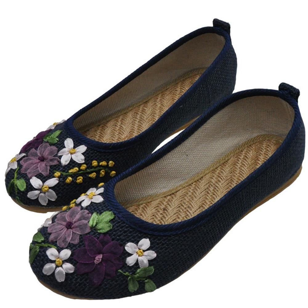 zapatos viejo flor Peking