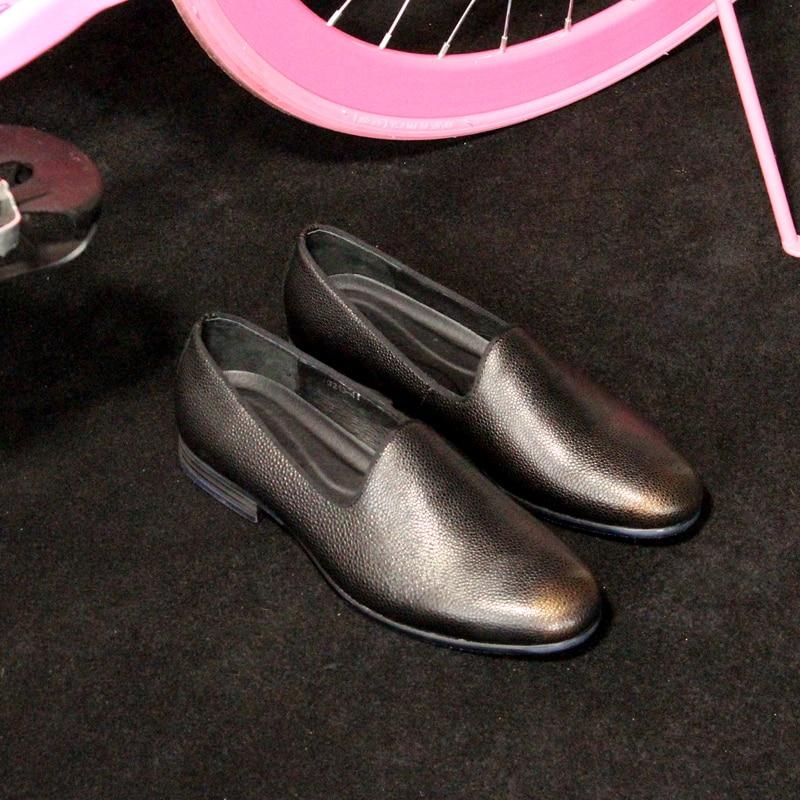Cuir Slip Peau Plein On Air Eu45 Occasionnels Shipping De Mode Zapatos Vraie Hommes Noir Date Chaussures Mocassins Drop As Shown En Appartements Vache Hombre za7Iwqtan