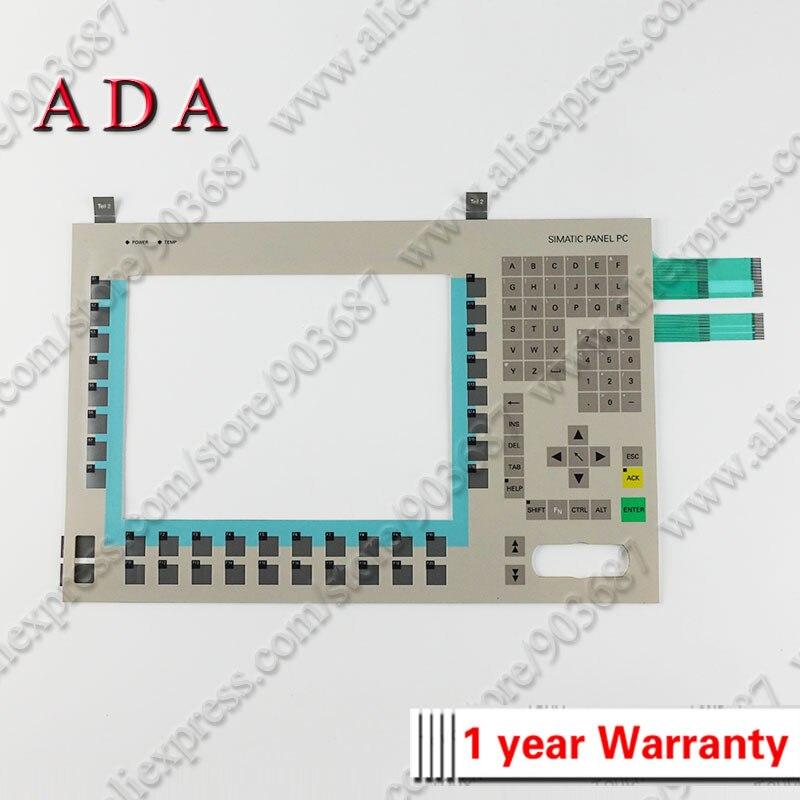 Computer & Office Membrane Switch Keypad Keyboard For 6av7613-0aa12-0cf0 Panel Pc 670 12 Key Shrink-Proof