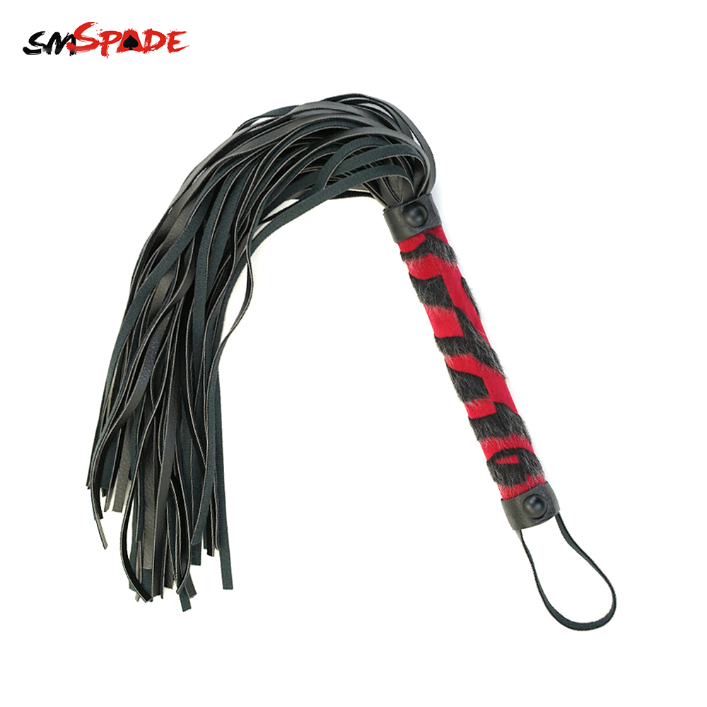 Smspade Adult Sex Toys Flogger Slave Restraints Erotic Toys Spanking Padle Bondage Whip Sex Toys Fetish Adult Game Whipping Play