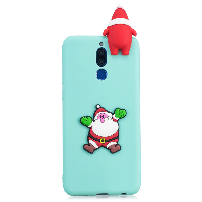 Merry Christmas Case Huawei Mate 20 Lite Cases For Coque Huawei Mate 10 Lite Slim Clear Soft TPU Silicone Covers