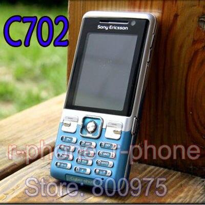 Цена за C702 Оригинальный Sony Ericsson C702 Мобильный Телефон GPS 3 Г 3.15MP Разблокирована Сотовый Телефон и Один год гарантии