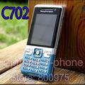 C702 original sony ericsson c702 gps 3g 3.15mp abrió el teléfono celular del teléfono móvil y un año de garantía