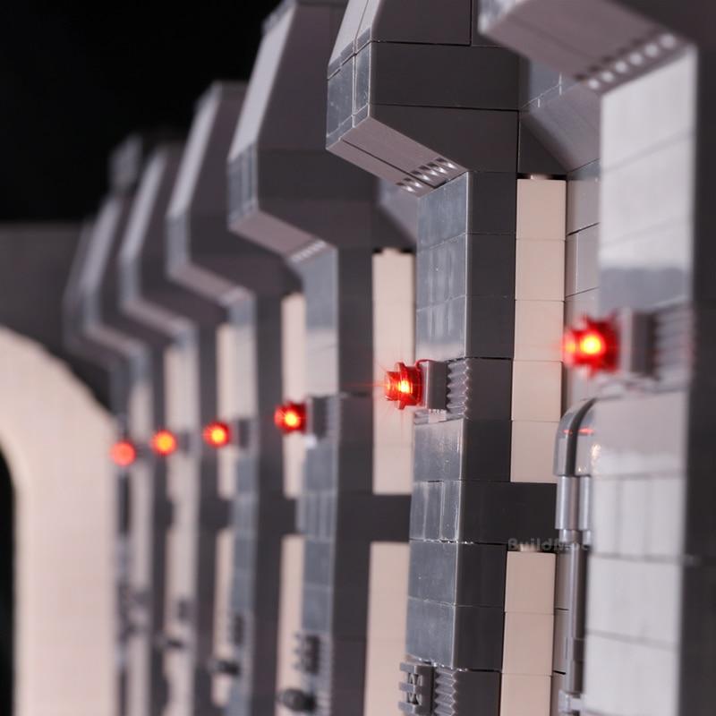 HA CONDOTTO LA Luce Kit Per Star Wars Super Star Destroyer Building Block Docking Bay 327 Compatibile con 05132 75192 Millennium Falcon-in Blocchi da Giocattoli e hobby su  Gruppo 3