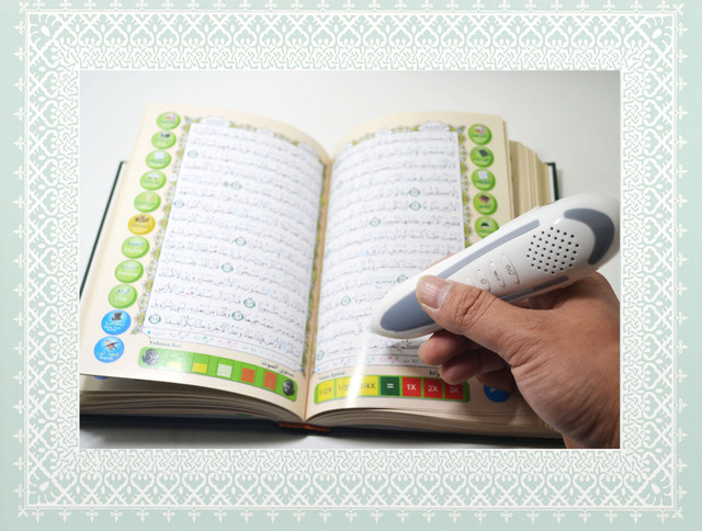 hot selling and free shipping holy Qur'an pen reader with 4gb memory and mp3