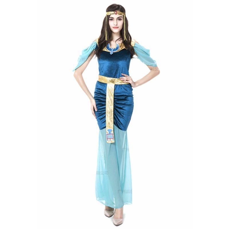 Индийская богиня в золотом платье