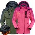 Мода мужчины женщины пуховик зима Парки пальто для женщин тепловой Бархат Ветровка куртки верхняя одежда Водонепроницаемый Ветрозащитный