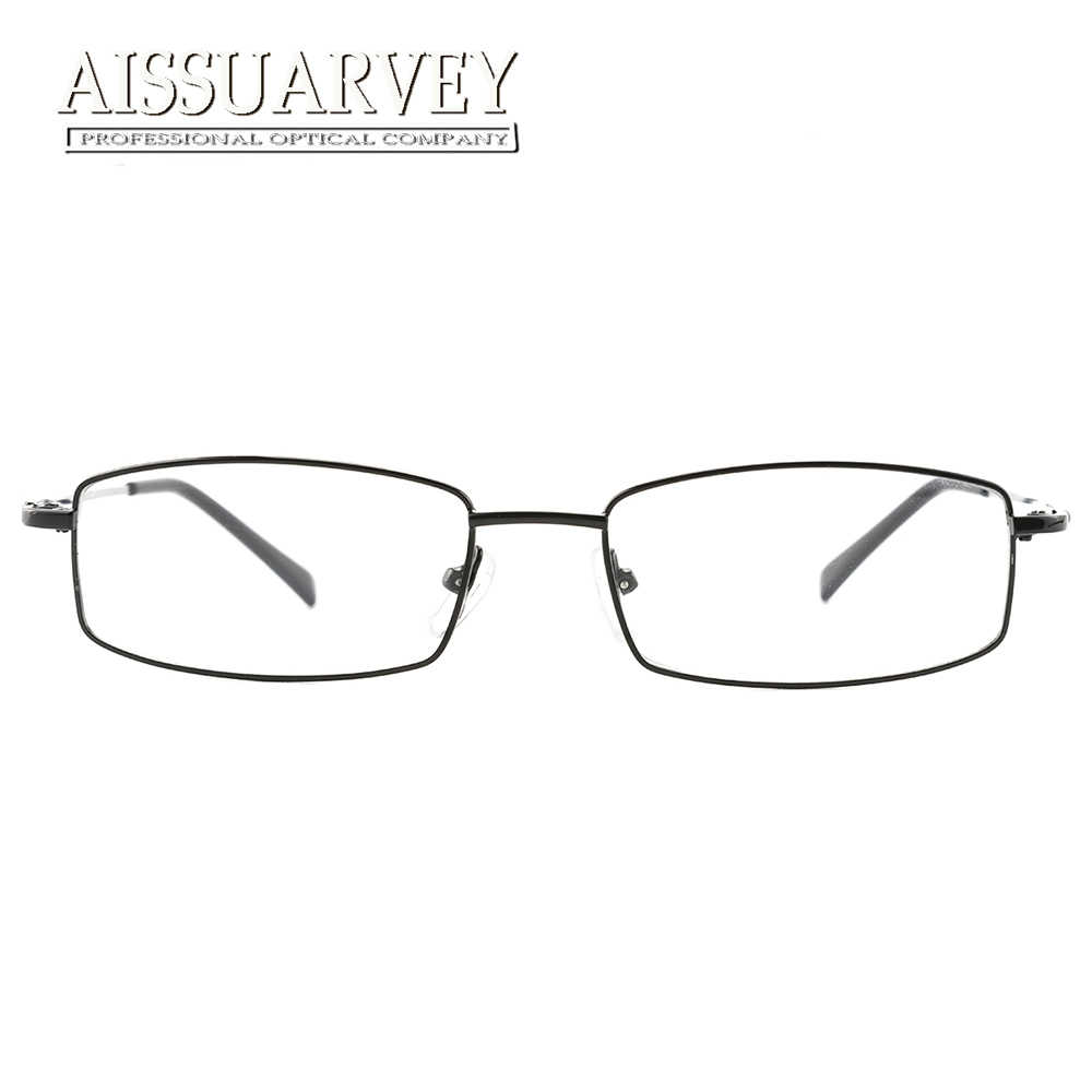 d6bbc8aa2d ... Men Eyeglasses Frame Optical Eyewear Myopia Prescription Glasses Frame  Clear Lenses Full Rim Best Price Fashion