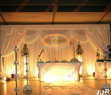 Wedding supplies white Stage Backdrop 10ft*20ft Party wedding Backdrop stege party Backdrop decoration