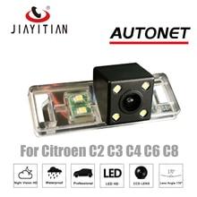 Câmera de Visão Traseira Para Citroen C2 C4 C8 JIAYITIAN CCD Night Vision camera Backup Estacionamento Assistência câmera placa de licença de backup