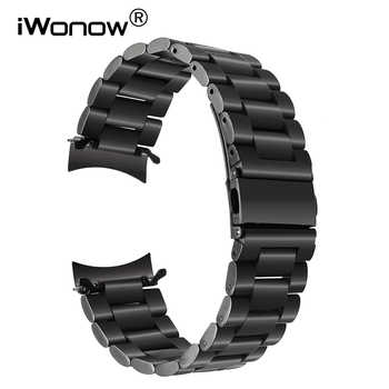 Newest Fashion Stainless Steel Watchband for Samsung Gear S3 Classic / Frontier R770 R760 Watch Band Metal Strap Wrist Bracelet - DISCOUNT ITEM  10% OFF All Category