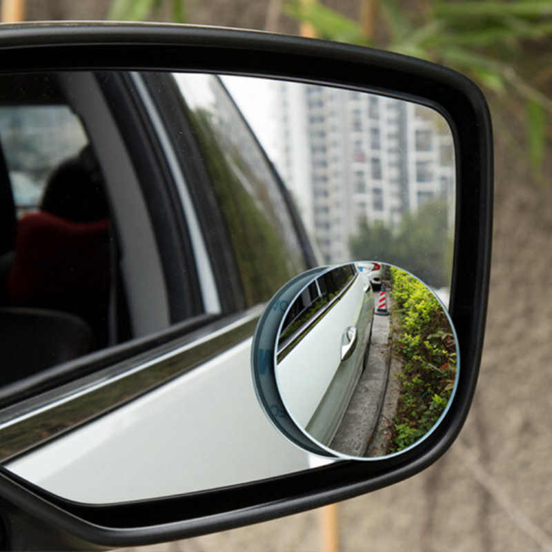 1 para samochodów okrągłe wypukłe Blind Spot lustro dla Daewoo Matiz Nexia Nubira Sens Tosca Winstorm