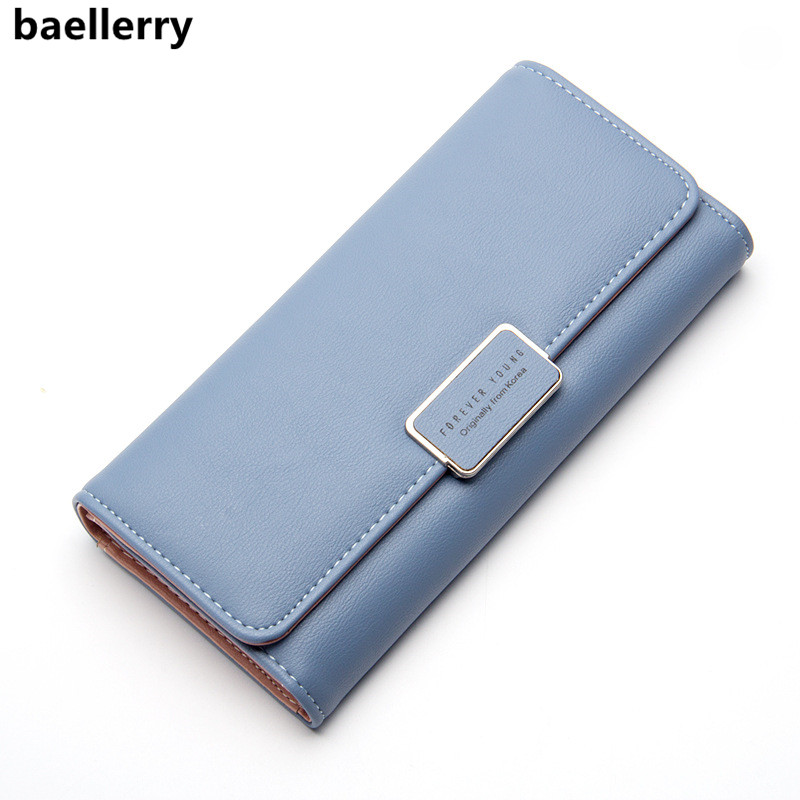 Baellerry 2018 Luxury Brand Lady Purse Women Long Wallet Large Capacity Female Purses Clutch Bag Wallet Woman Carteras Mujer
