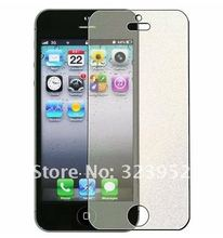 Free Shipping100pcs lot Front Silver Diamond LCD Screen Protector Film For iphone 5 by DHL High