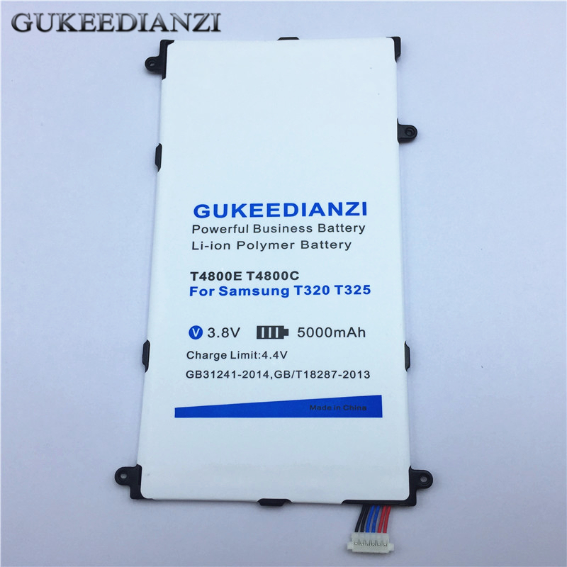 Computer & Office Gukeedianzi 5000mah T4800e T4800c Li-ion Tablets Pc Battery For Samsung Galaxy Tab Pro Sm T320 T321 T325 Rechargeable Batteries Tablet Accessories