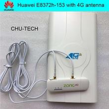 Entsperren Huawei E8372 E8372h-153 4G wifi stick mit LTE hochleistungsantenne doppel TS9 stecker