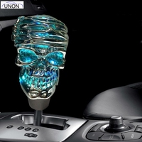 7 Colors Touch Car Crystal With Lights Colorful Gear Stick Shift Led Shift Knob