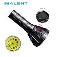 IMALENT MS12 светодиодный фонарик CREE XHP70 53000 люмен Водонепроницаемый вспышки света с интеллектуальным зарядки для Открытый Поиск свет
