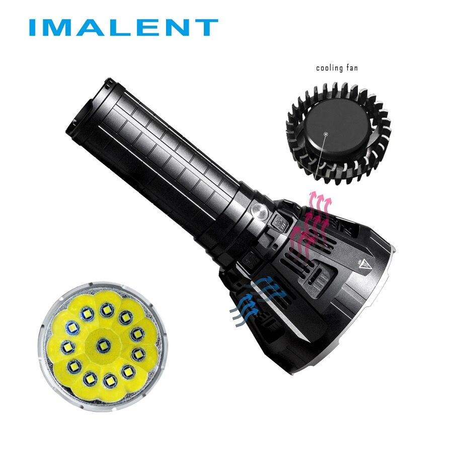 IMALENT MS12 LED lampe de Poche CREE XHP70 53000 Lumens Étanche Flash light avec Intelligent De Charge pour Extérieure Lumière de Recherche