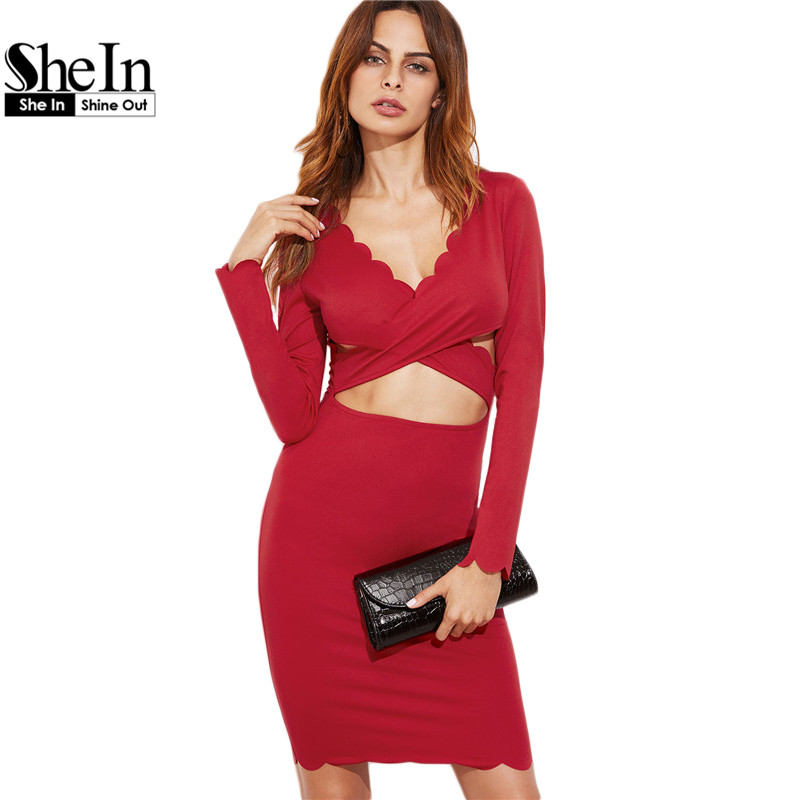 Red Winter Dresses Promotion-Shop for Promotional Red Winter ...