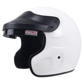 Casco de carreras ignífugo SNELL SA2015 aprobado casco de motocicleta para motociclistas locos