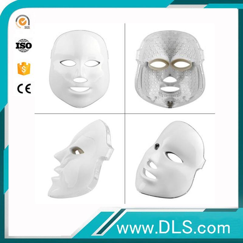 Les lumières de couleur d'utilisation à la maison de PDT 7 ont mené le masque facial de masque de thérapie de photon pour le levage de visage