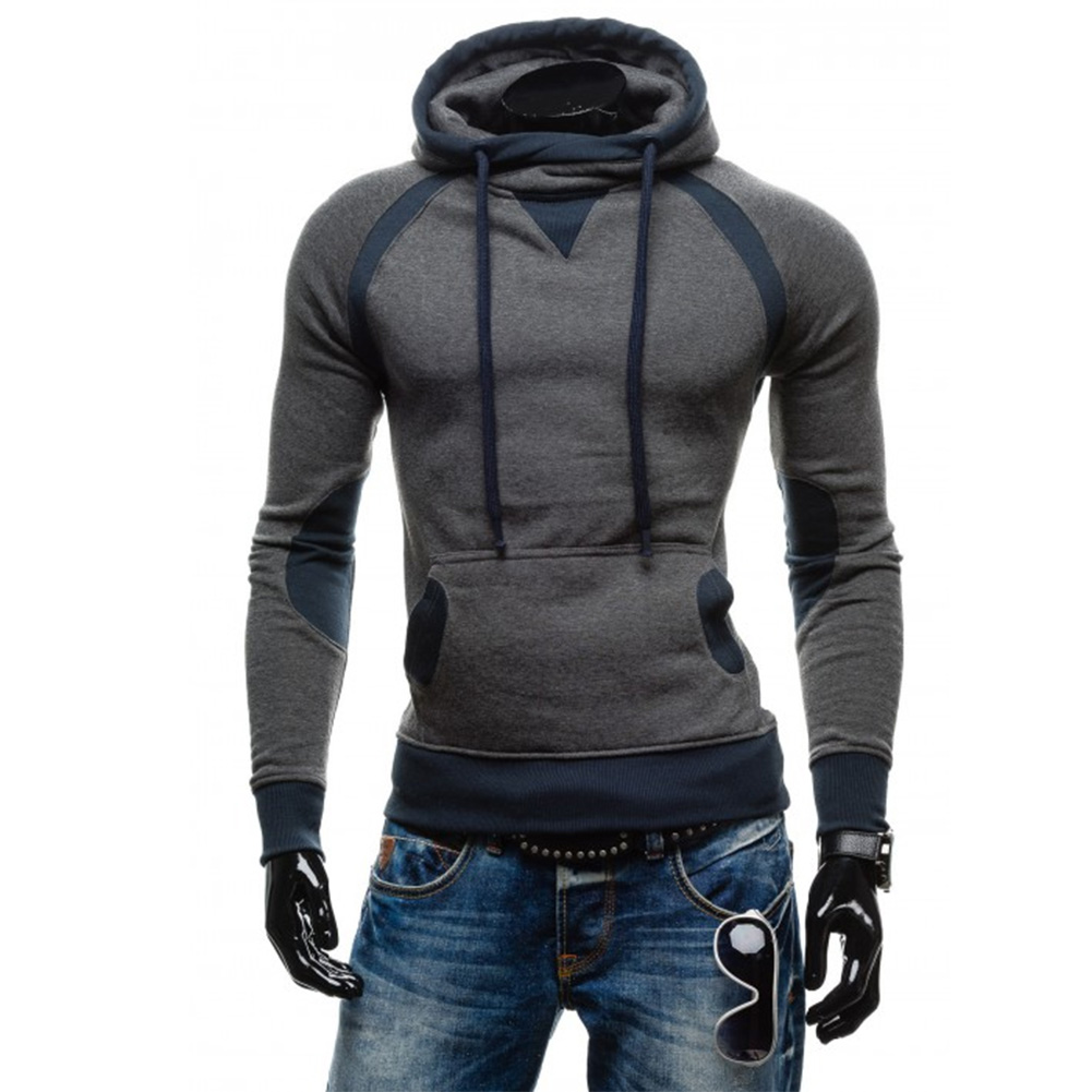 New Letter Word Sweatshirt Men Spring Winter Hoodies Male Long Sleeve Hoodies Slim Tracksuit Outwear Coats