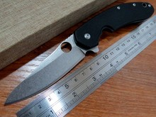 5PCS/LOT Hot sale Efeng C156 Spyder Knife CTS-204P Blade G10 Titanizing Steel Handle Camping Hunting  Pocket Tactical Knives