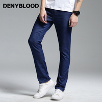 Denyblood Jeans 2017 Summer Mens Jeans Pants Washed Light Weight Stretch Denim Casual Pants High Quality