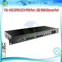 Porto de FHL-104C epon olt4 pon  porto ieee802.3ah do ethernet de 4ge wan yd/T1475-2006 e padrão ctc2.1 fttb ou ftth  onu e odn