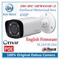 Nueva original poe dahua ip cámara de $ number mp cámara cctv varifocal lente motorizado dh-ipc-hfw4431r-z englsih firmware ipc-hfw4431r-z