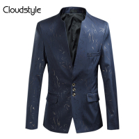 Cloudstyle Male Blazer Plus Size 4XL Fashion Casual Slim Fit Jackets Men Suits For Party Autumn