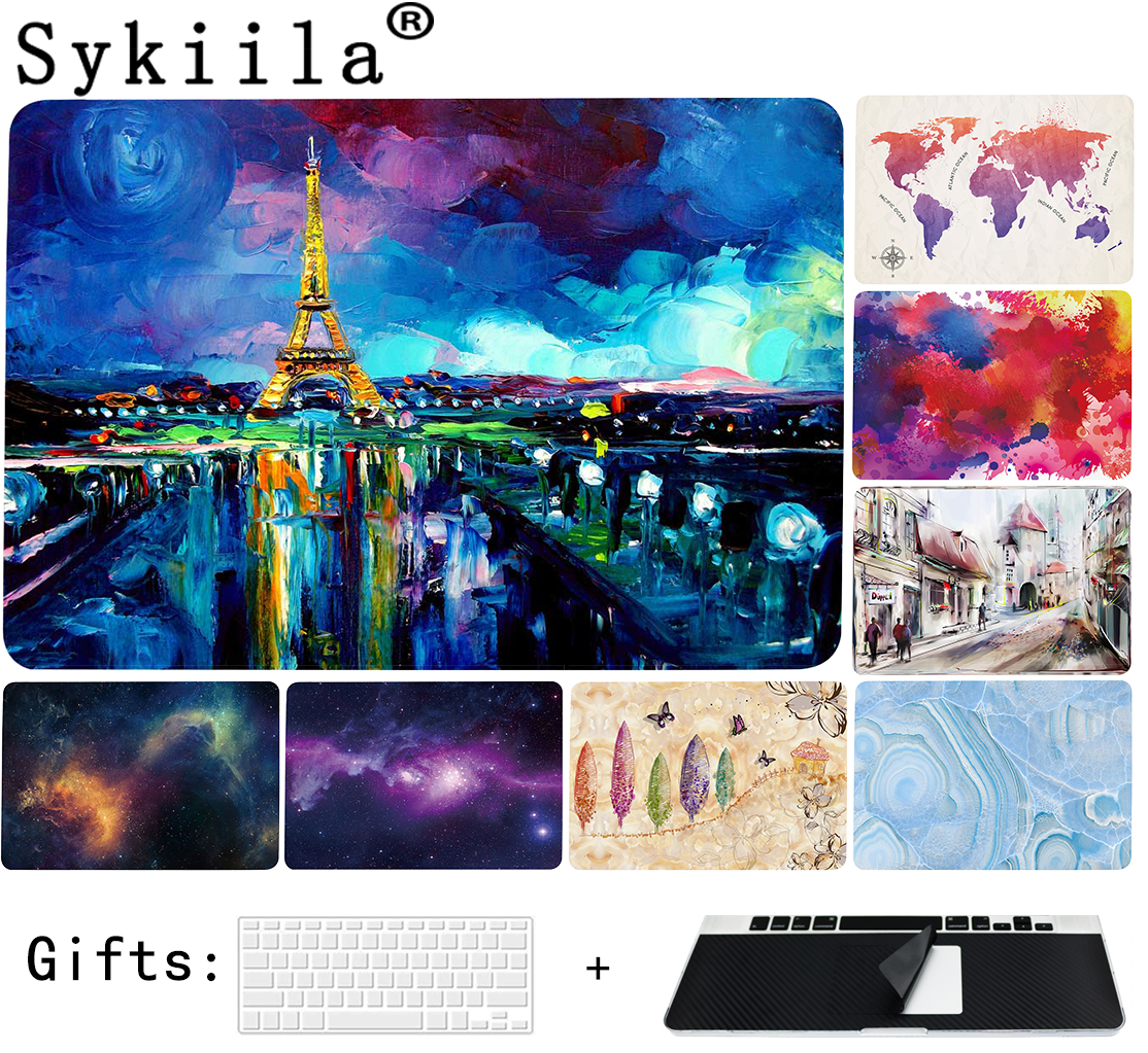 Printing Hard Case For Apple For Macbook Air 11 13 Pro 13 15 12 Retina Case Bag Matte Drawing Custom Made Cover Oil Shell