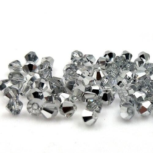 Новинка 5301 4 мм 1000 шт стеклянные кристаллы бусины биконус граненый свободный разделитель бисер бусины Fantas AB DIY Изготовление ювелирных изделий U выбор цвета - Цвет: 219