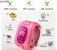 GPS Tracker Watch For Kids Safe GPS Watch GSM Wifi Wristwatch Y3 SOS Call Finder Locator