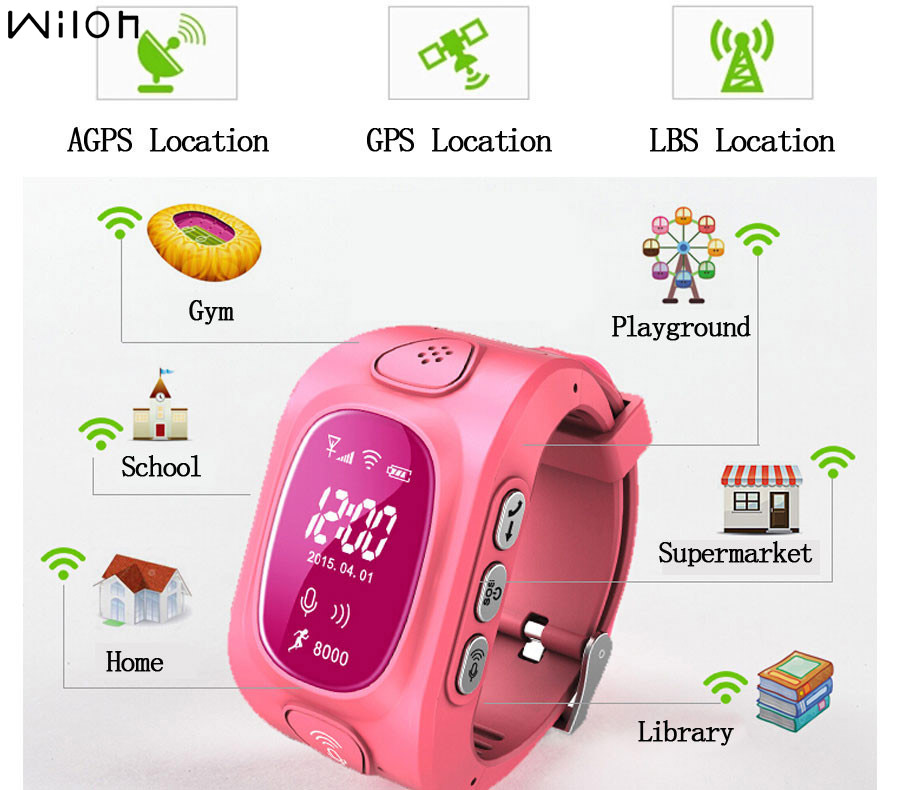 Q50+ GPS Tracker Watch for Kids Safe GPS smart Watch GSM Wristwatch Y3 SOS Call Finder Locator Tracker for Child Anti Lost OLED smart health baby watch gps tracker for kids safe sos call anti lost reminder fall down alarm geo fence 2017 child clock se11a