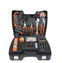 Многофункциональный набор инструментов Аппаратного комплект дома дерева металла производят DIY инструменты 6 КГ включая Сверло набор