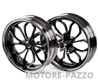 Motorcycle Wheel Rims Front Rear Wheel Rim Set Aluminum Alloy Black For Yamaha NMAX155 NMAX 155 NMAX125
