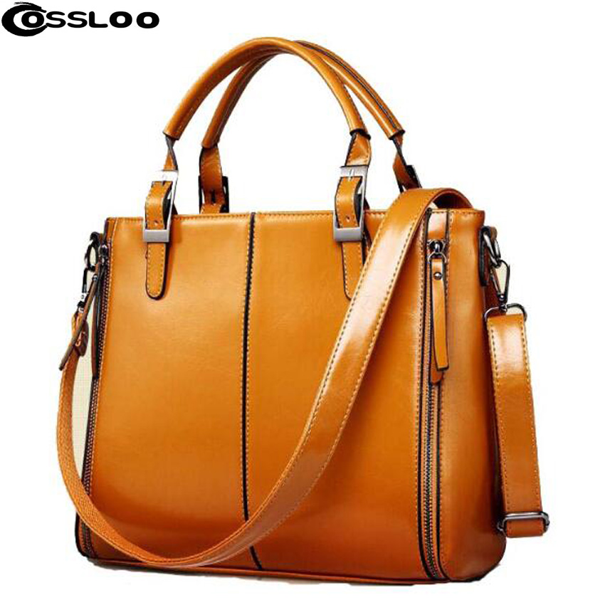 COSSLOO women's handbag fashion shoulder bag split leather tassel bag women messenger bags luxury handbags women bags designer women messenger bags cow split leather bag female handbag fashion crocodile evening bags red shoulder bag handbags bolsa tasche