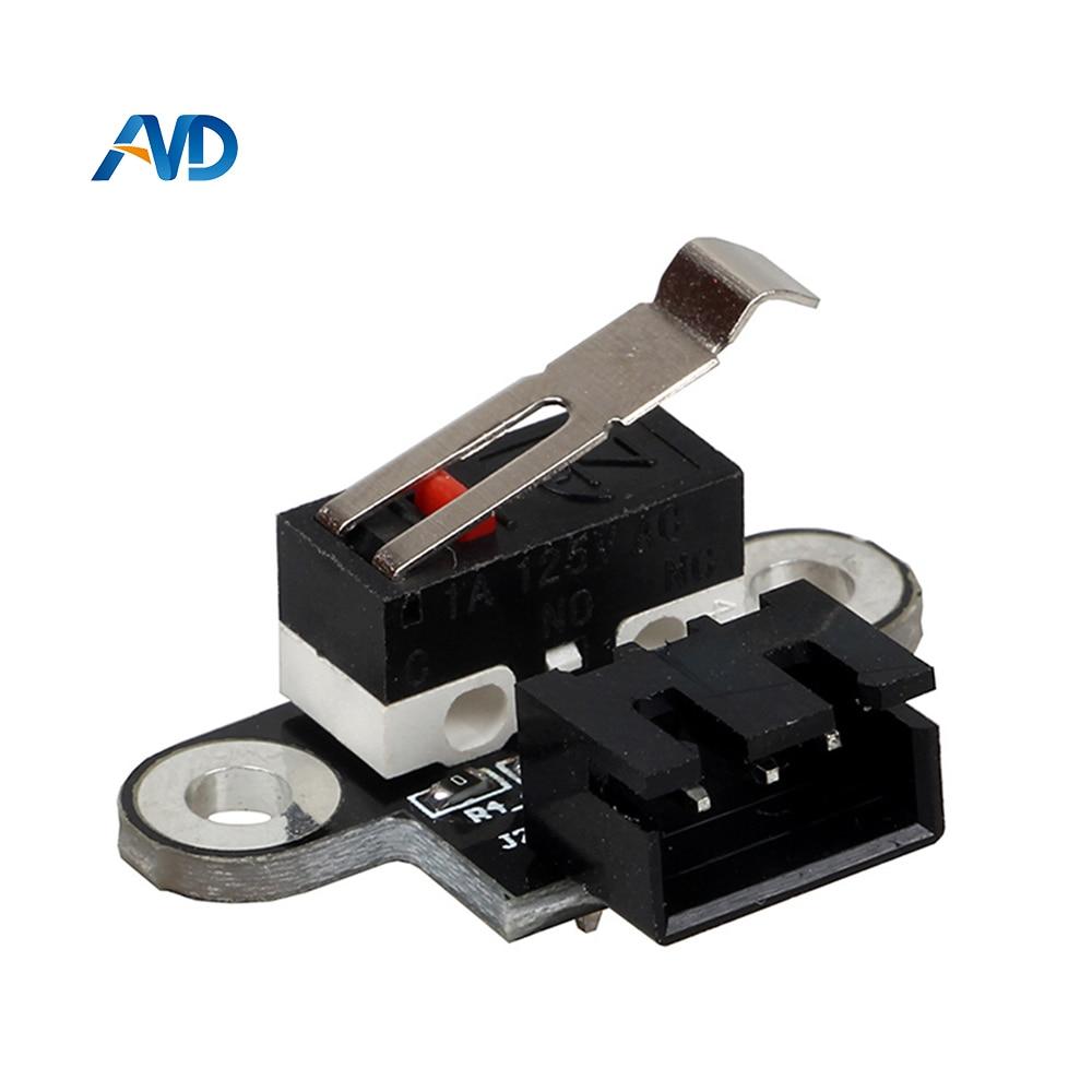 4Pcs 3D Printer Kits Endstop Mechanical Limit Switch Module Endstop Switch Horizontal Type for RAMPS 1.4 DIY Parts