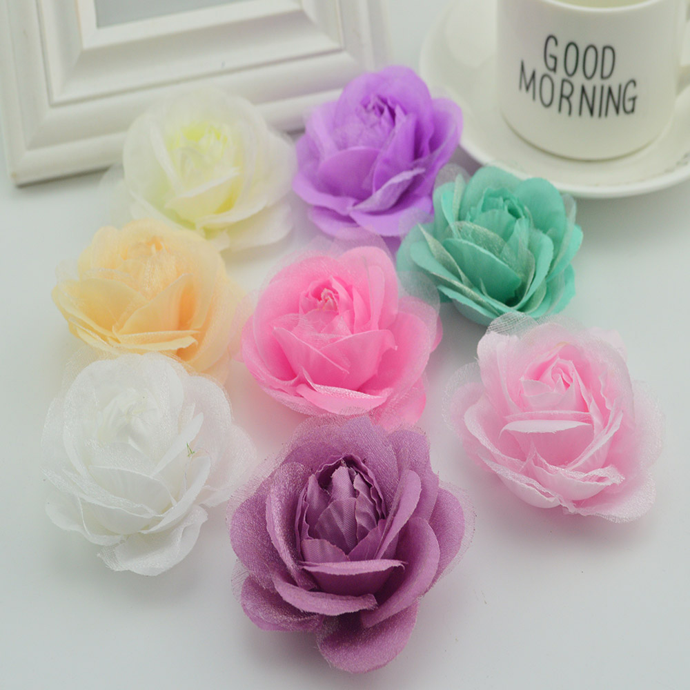 10pcs cheap silk cloth rose head for swimsuit accessories wedding 10pcs cheap silk cloth rose head for swimsuit accessories wedding decora scrapbooking fake flowers diy garland artificial flower in artificial dried izmirmasajfo
