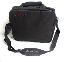 PS4 Accessories Travel Storage Case Protective Shoulder Bag Handbag for PlayStation 4/Slim/Pro Console Joystick PS4 Game Disks стоимость