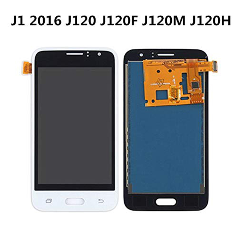 J120F <font><b>LCD</b></font> Für <font><b>Samsung</b></font> <font><b>Galaxy</b></font> J1 2016 <font><b>J120</b></font> Fall J120F <font><b>LCD</b></font> Display Touch Screen Für <font><b>Samsung</b></font> J1 2016 <font><b>J120</b></font> SM-J120F Display image