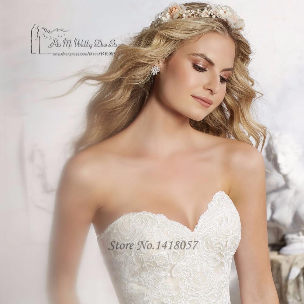 Robe De Mariage Hot Sell Mermaid Wedding Dresses Ruffles Turkey