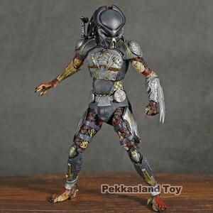 Image 2 - NECA Predator 2018 Film Latitante Predator PVC Action Figure Da Collezione Model Toy