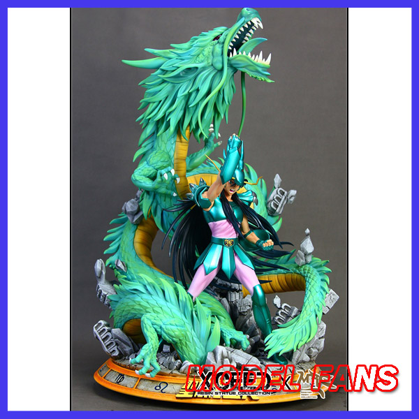 MODEL FANS IN-STOCK 60cm mrc Shiryu GK resin statue contain led light  for Collection model fans in stock wow illidan 60cm